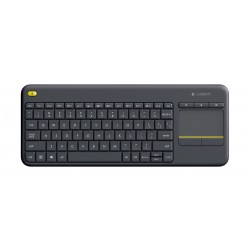 Logitech All-In-One Wireless Touch Keyboard K400 Plus - Dark