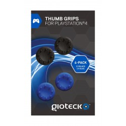 Gioteck Controller Thumb Grips For PS4 Controller - Pack Of 4