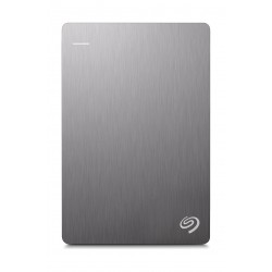 Seagate Back up Plus Slim 2TB Portable Hard Drive - Silver (STDR2000201)
