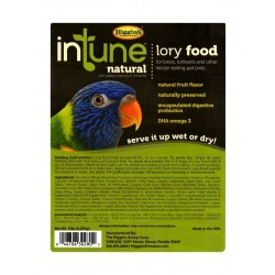 Higgins Intune Lory Natural Bird Food - 5 lbs