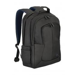 Riva Bulker Backpack For 17.3-inch Laptop (8460) - Black