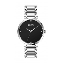 Jovial Casual Analog Quartz Gents Metal Watch (9161-GSMQ-03) - Silver
