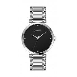Jovial Casual Analog Quartz Ladies Metal Watch (9161-LSMQ-03) - Silver