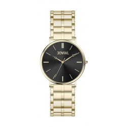 Jovial Casual Analog Quartz Ladies Metal Watch (9162-LGMQ-03) - Gold
