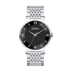 Jovial Casual Analog Quartz Gents Metal Watch (9163-GSMQ-03) - Silver