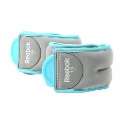 Reebok Ankle Weights – 1 KG – Blue/Grey (RAWT-11074BL)
