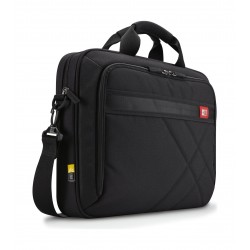 Case Logic 15.6-Inch Laptop and Tablet Briefcase - Black (DLC-115)