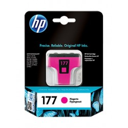 HP Ink 177 for Inkjet Printing 370 Page Yield - Magenta (Single Pack)