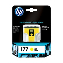 HP Ink 177Y for Inkjet Printing 500 Page Yield - Yellow (Single Pack)