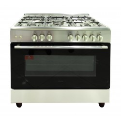 Terim 5 Burner Stainless Steel Gas Cooker - 965SFGGX