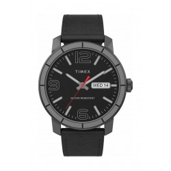 Timex 44mm Gent's Analog Leather Watch - (TW2T72600)