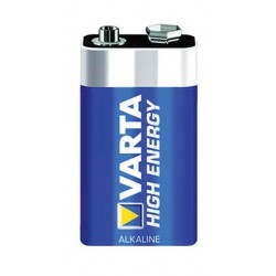 Varta 9V High Energy Alkaline Battery