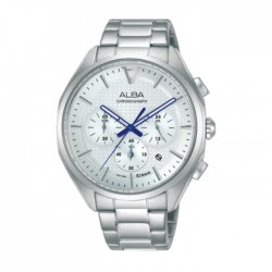 Alba 42mm Men's Chrono Watch (AT3G79X1) in Kuwait | Buy Online – Xcite