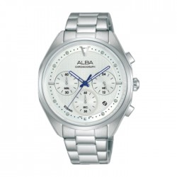 Alba 38mm Women's Chrono Watch (AT3G93X1) in Kuwait | Buy Online – Xcite