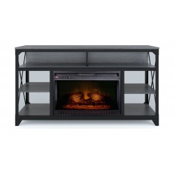 Wansa TV Stand Up to 60-inch With Fire Place (A393-1) Package