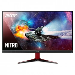 """Acer Nitro VG2 27"""" Full HD 165Hz Gaming Monitor VG272S red and black"""