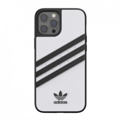 Adidas iPhone 12 Pro Max Moulded Case - White / Black