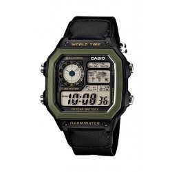 Casio 42mm Digital Nylon Sports Watch - (AE-1200WHB-1BVDF)