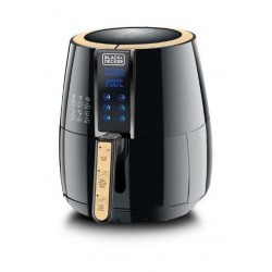 Black+Decker 4L AeroFry Digital Air Fryer - 1500W 1.2kg (AF400-B5) Black
