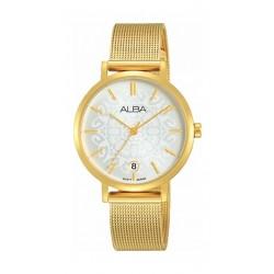 Alba 32mm Quartz Analog Ladies Metal Watch (AG8J06X1) - Gold