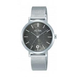 Alba 32mm Quartz Analog Ladies Metal Watch (AG8J09X1) - SIlver