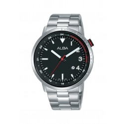 Alba 42mm Analog Gents Metal Watch (AG8J91X1)