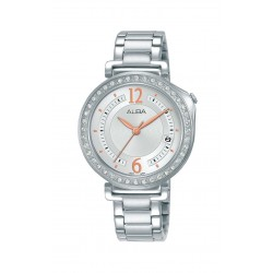 Alba 34mm Analog Ladies Metal Fashion Watch (AG8K11X1)