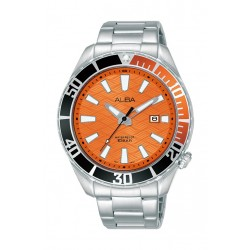 Alba 43mm Gent's Analog Sports Metal Watch - (AG8K27X1)