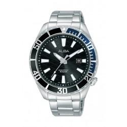 Alba 43mm Gent's Analog Sports Metal Watch - (AG8K33X1)
