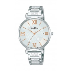 Alba 34mm Ladies Analog Metal Fashion Watch - AG8K77X1