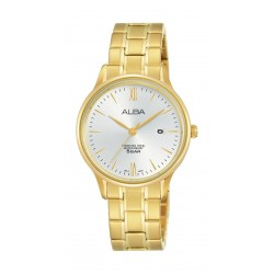 Alba Ladies Casual Analog 30 mm Metal Watch (AH7N82X1) - Gold