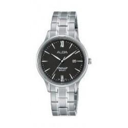 Alba Ladies Casual Analog 30 mm Metal Watch (AH7N87X1) - SIlver