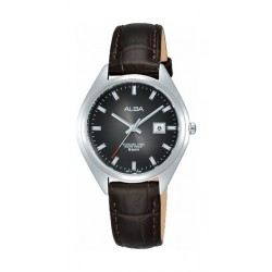 Alba 31mm Ladies Leather Analog Watch (AH7Q13X1) - Black