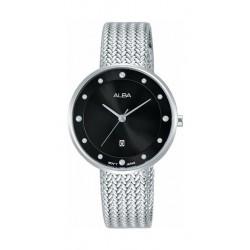 Alba 32mm Quartz Analog Ladies Metal Fashion Watch (AH7Q27X1) - Silver