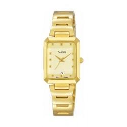 Alba Quartz 21mm Analog Ladies Metal Watch (AH7Q86X1) - Gold