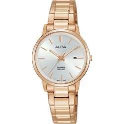 Alba 28mm Analog Ladies Metal Watch (AH7R46X1) - RoseGold