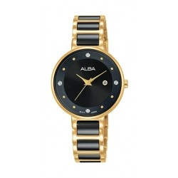 Alba 30mm Analog Ladies Metal Fashion Watch - AH7R88X1