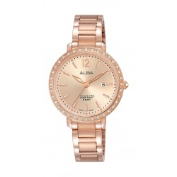 Alba 30mm Ladies Analog Fashion Metal Watch - (AH7S02X1)