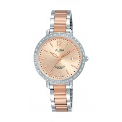 Alba 30mm Ladies Analog Fashion Metal Watch - (AH7S07X1)