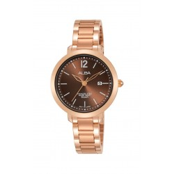 Alba 30mm Analog Ladies Metal Fashion Watch (AH7S90X1)