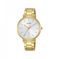 Alba 34mm Analog Ladies Fashion Metal Watch (AH7T24X1) - Gold