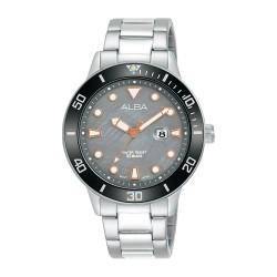 Alba 36mm Gent's Analog Sports Metal Watch - (AH7T75X1)