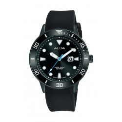 Alba 36mm Gent's Analog Rubber Sport Watch - (AH7T81X1)