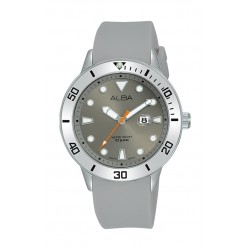 Alba 36mm Gent's Analog Rubber Sport Watch - (AH7T83X1)