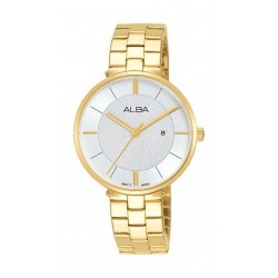 Alba 32mm Ladies Analog Fashion Metal Watch - (AH7U32X1)