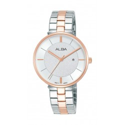 Alba 32mm Ladies Analog Fashion Metal Watch - (AH7U34X1)