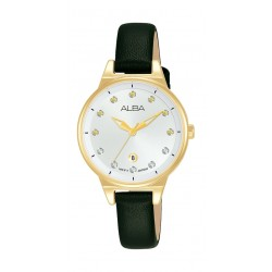 Alba 30mm Ladies Analog Fashion Leather Watch - (AH7U52X1)