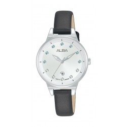 Alba 30mm Ladies Analog Fashion Leather Watch - (AH7U55X1)