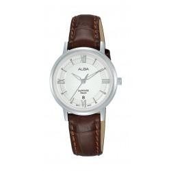 Alba 29mm Ladies Leather Analog Casual Watch - AH7V67X1