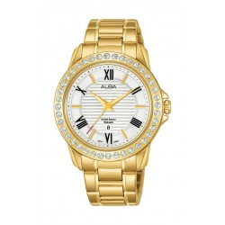 Alba Prestige 36mm Ladies Analog Fashion Metal Watch - AH7V70X1